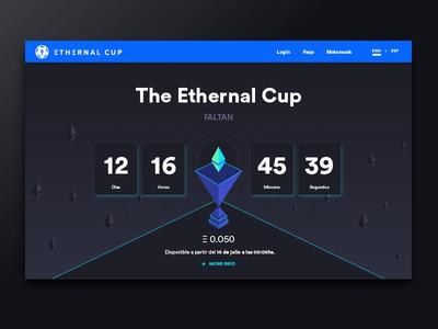 Ethernal Cup Web - Countdown