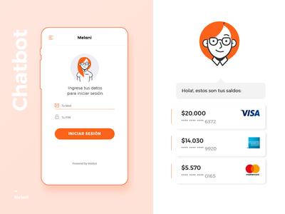 Melani - Online Banking Chatbot - Login