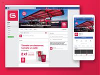 GEA - Gas Station - Social Media