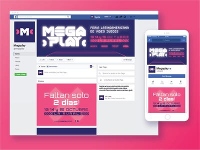Megaplay - Latin American videogame fair design
