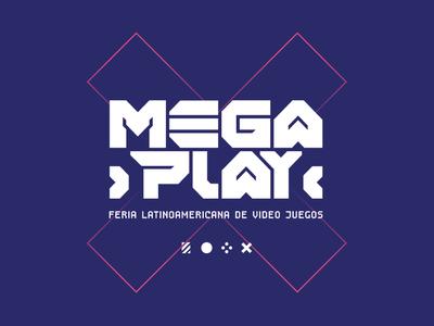 Megaplay - Latin American videogame fair - brand design
