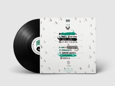 Vinyl Design - Panda Bear - Tomboy (Back)