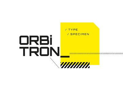 Orbitron Type Specimen tipografía editorial design type specimen type design type typography morfología morphology uba design diseño gráfico graphic design