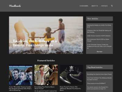 Online Blog Website