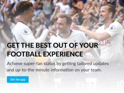 Sports App Landing Page