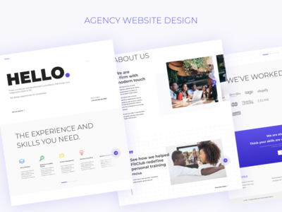 Agency Website Template