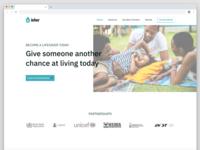 Blood Donation Website design