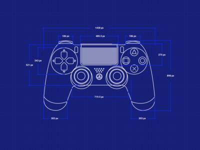 PS4 Controller Blueprint