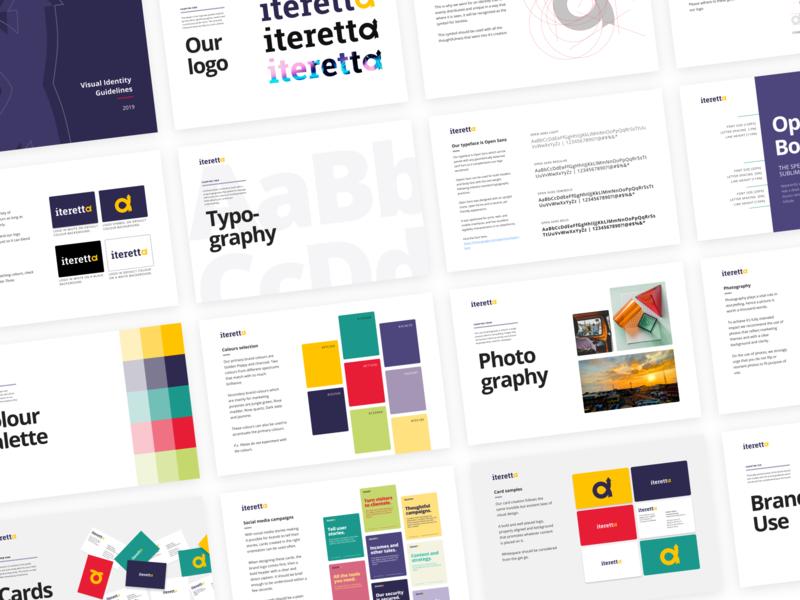 Branding Identity designs for Iteretta