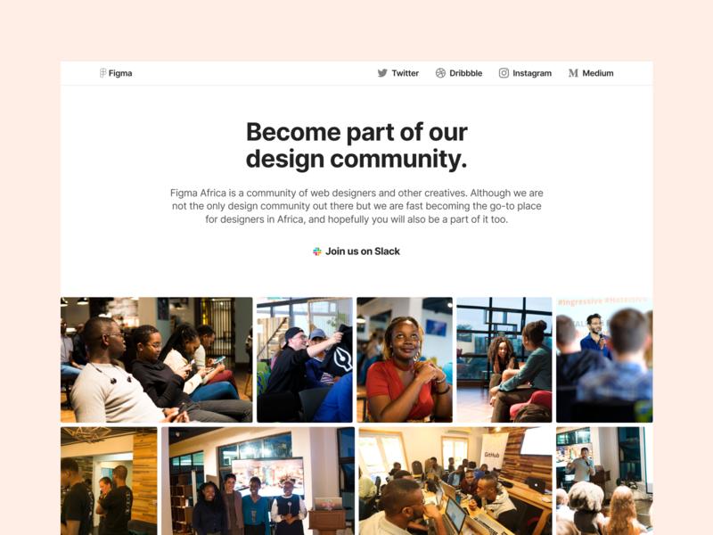 The Figma Africa website