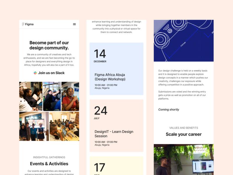Figma Africa Website