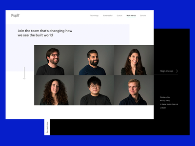 Pupil.co – Page Layouts uk london technology architectural spatial data property real estate ui simple trending startup responsive grid layout website