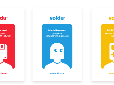 Voidu-Game Store Business Cards by Emrah Kara on Dribbble