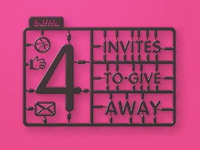 4x Invites