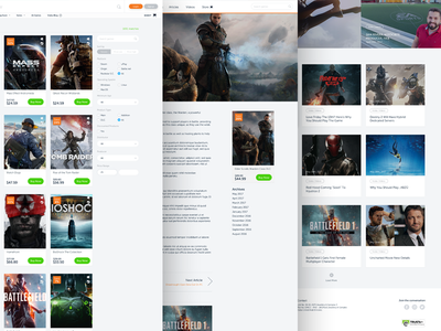 Voidu Redesign-Page Layouts
