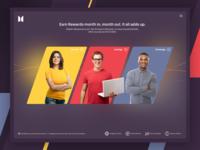 Banking Ad Vidget Design