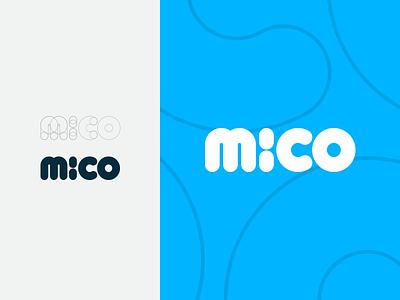 Mico rounded detail sketch splash app crypto bitcoin type logotype logo
