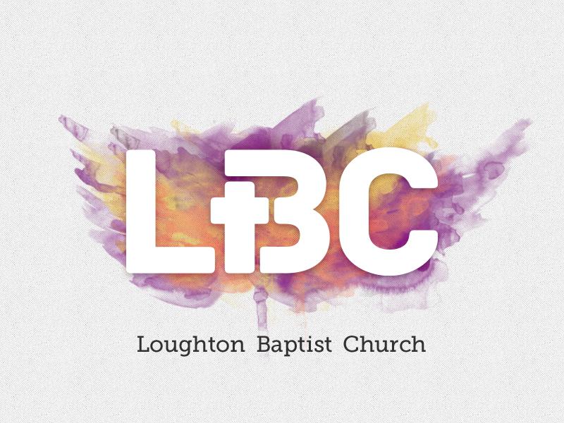 LBC logo logo typography church