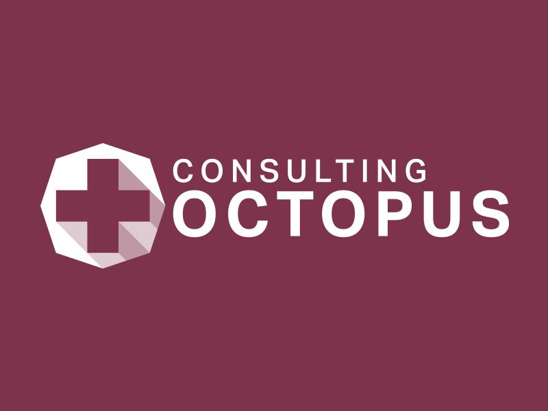 Consulting Octopus logo branding