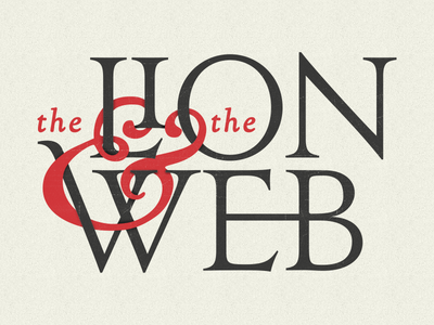 the Lion and the Web logo