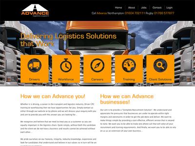 Advance Website website