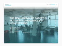 Advance Compliance Website
