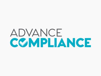 Advance Compliance Branding logo branding