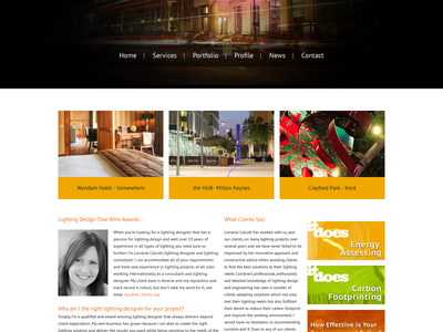 It Does Website Concept homepage ui website