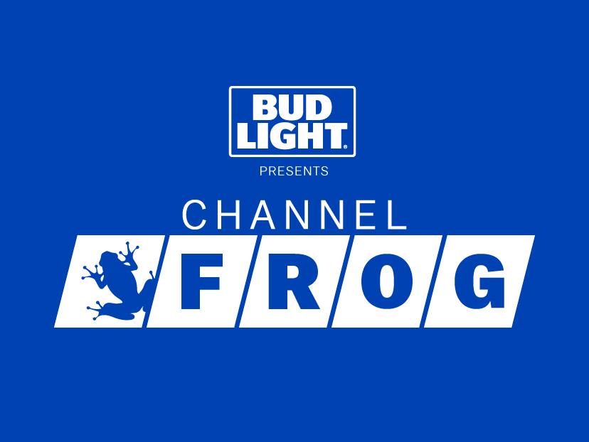 ChannelFrog - Bud Light design logo branding