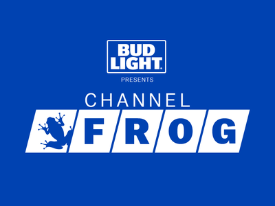 ChannelFrog - Bud Light design logo branding