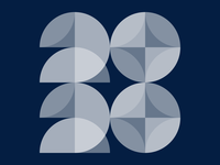 2020 vector branding 2020 graphic typogaphy