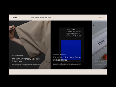 Prim - WordPress Theme wordpress theme template responsive minimal magazine interior furniture fashion blog