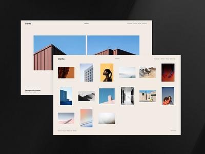 Clarita - WordPress theme for photographers images photography portfolio gallery photographers template wordpress responsive theme minimal