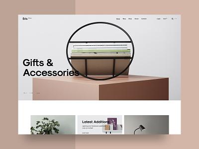 Eris Shop ecommerce minimal shop store theme wordpress