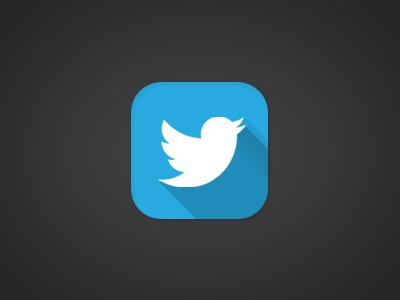 Twitter iOS7 twitter ios7 icon blue