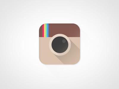 Instagram iOS7 instagram icon apple ios7 flat