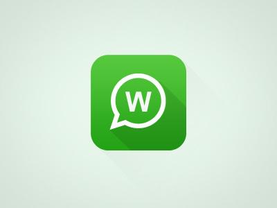 WhatsApp Ios7 whatsapp ios7 icon apple flat