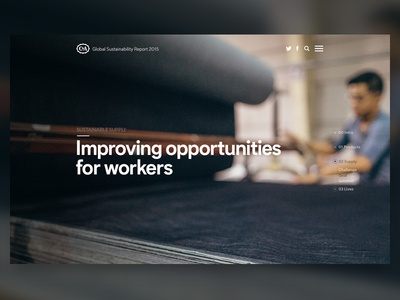 Landing Page  microsite background landing page website video