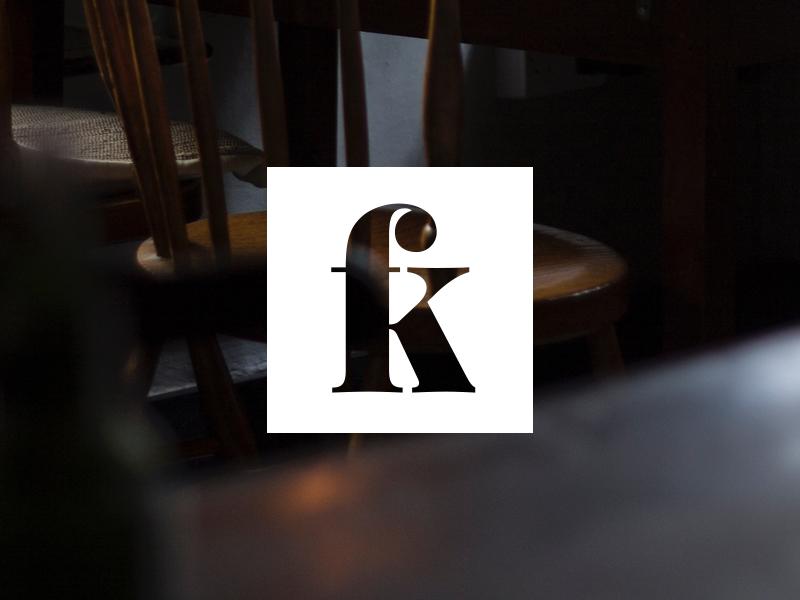 FK WIP square branding logo wip k f
