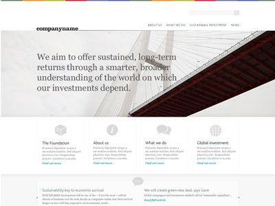 Homepage WIP homepage website clean grey simple icons