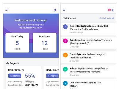 Bell Notification design app