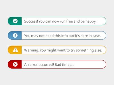 Messages validation messages validation messages alerts dialog warning success error information