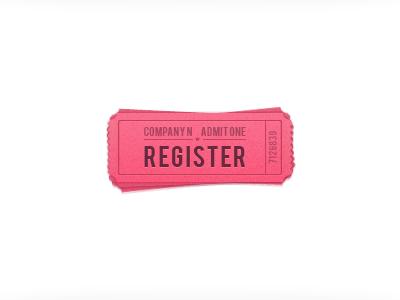 Register Button register button tickets ticket ticket reseller ui