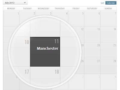 Calendar calendar event calendar show dates data visualization dates