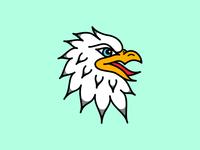 Eagle Tattoo Flash