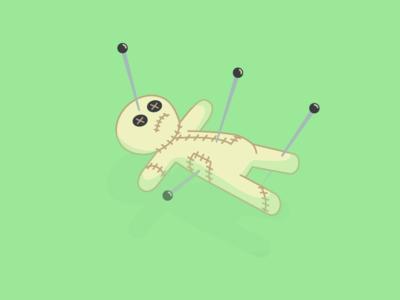 Floating Voodoo Doll