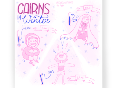 Cairns Weather - Curl Co. Comic
