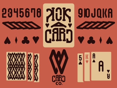 W Card Co. w vintage cards