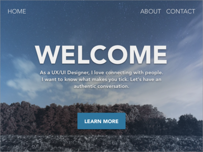 100 - Redesign Landing Page