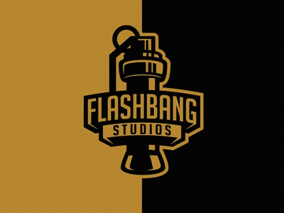 Flashbang Studios splash flash weapon logotype dmitry krino grenade flashbang